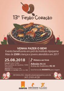 Convite Feijão Coração