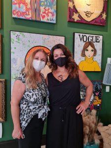 Susana Japur e Adri Volpi na nova galeria